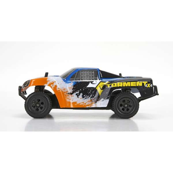 ECX 1/24 Torment 4WD SCT RTR, Black/Orange