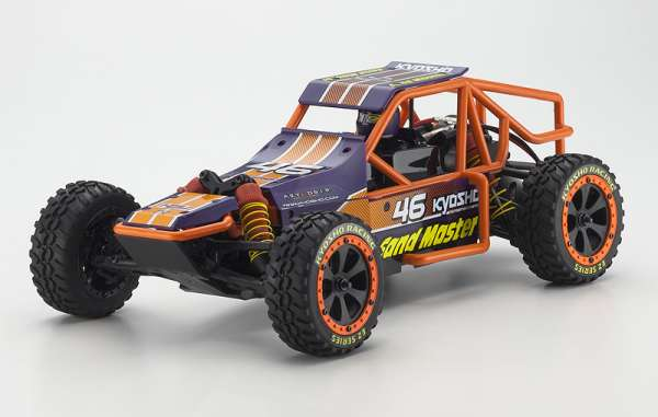 Kyosho Sand Master ReadySet 1/10 2wd Buggy(Purple)