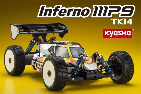 Kyosho Inferno MP9 TKI4 1/8 Nitro Buggy Kit KYO33001B