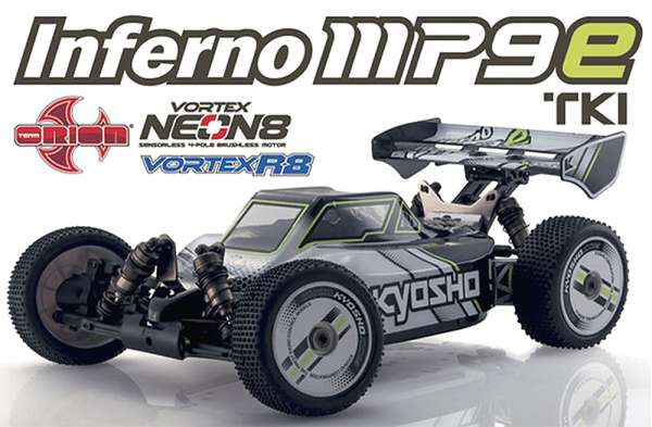Kyosho INFERNO MP9e TKI T1 WHITE/BLACK